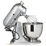 KitchenAid KSM150PSCU 10-Speed Stand Mixer w/ 5-qt Stainless Bowl & Accessories, Contour Silver