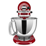 KitchenAid KSM150PSER 10-Speed Stand Mixer w/ 5-qt Stainless Bowl & Accessories, Empire Red