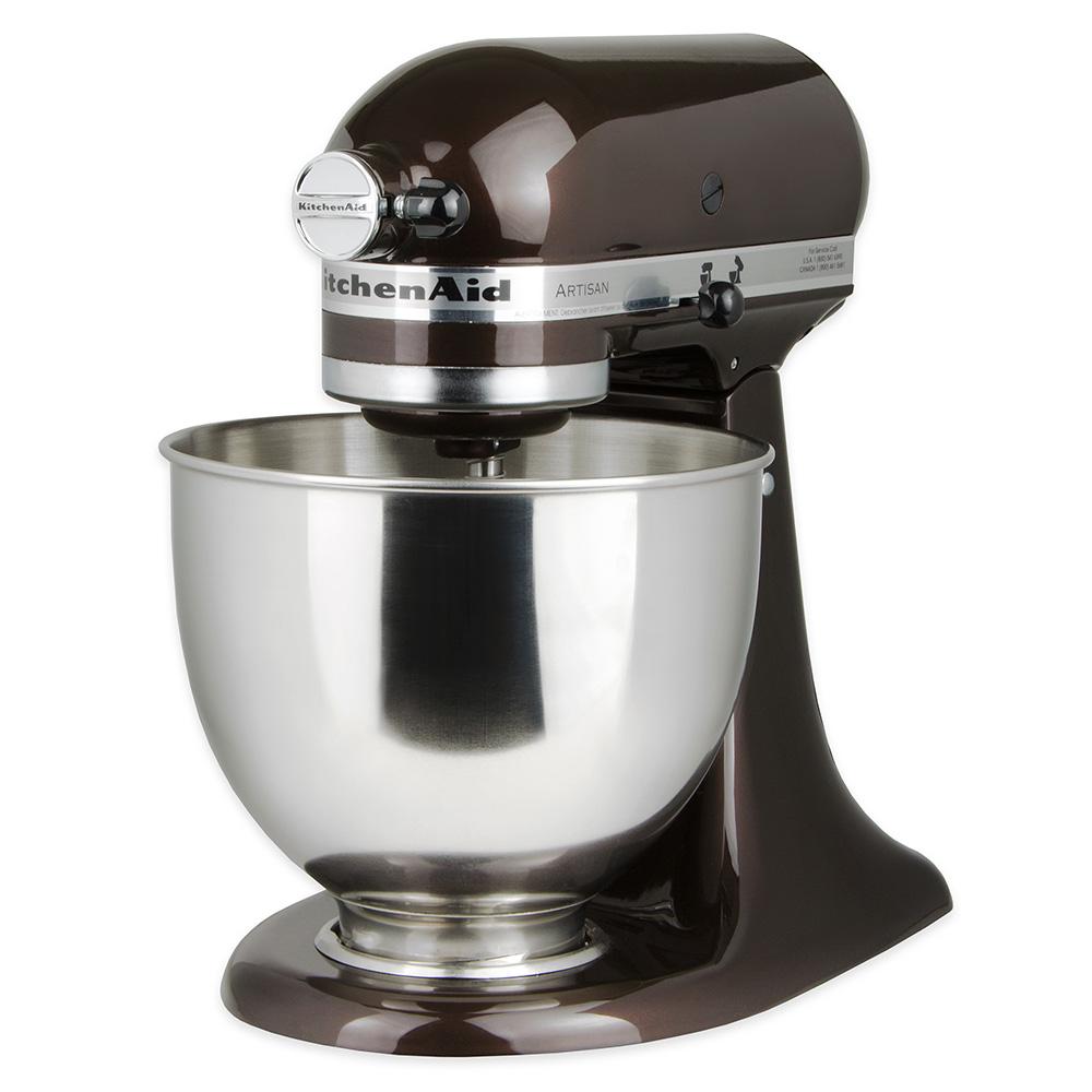 KitchenAid KSM150PSES 10-Speed Stand Mixer w/ 5-qt Stainless Bowl & Accessories, Espresso