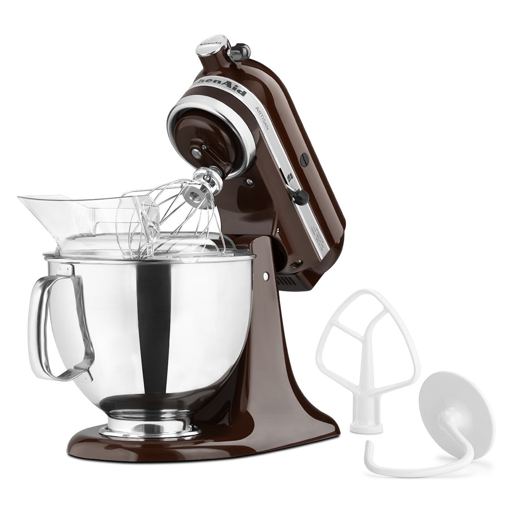 KitchenAid KSM150PSES 10-Speed Stand Mixer w/ 5-qt Stainless Bowl & Accessories, Espresso