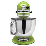 KitchenAid KSM150PS 10-Speed Stand Mixer w/ 5-qt Stainless Bowl & Accessories, Green Apple