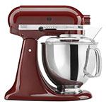 KitchenAid KSM150PSGC 10-Speed Stand Mixer w/ 5-qt Stainless Bowl & Accessories, Gloss Cinnamon