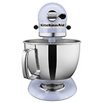 KitchenAid KSM150PSLR 10-Speed Stand Mixer w/ 5-qt Stainless Bowl & Accessories, Lavender Cream