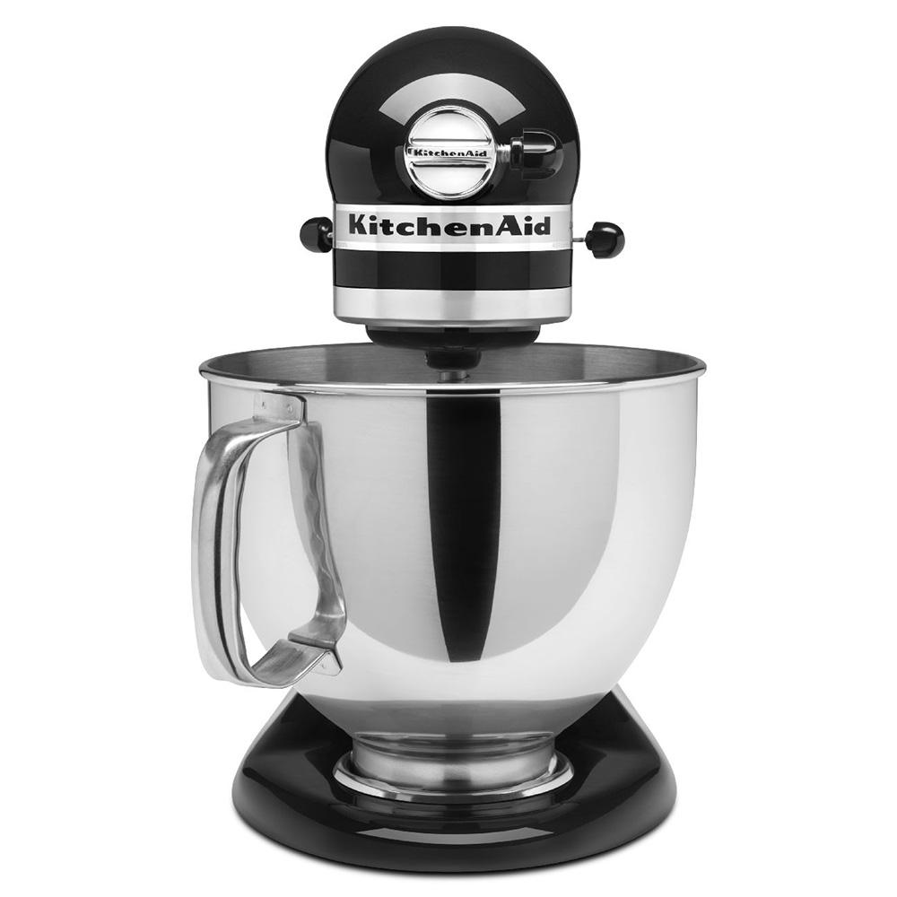 Charming KitchenAid KSM150PSOB 10 Speed Stand Mixer W/ 5 Qt Stainless Bowl U0026  Accessories, Onyx Black