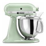 KitchenAid KSM150PSPT 10-Speed Stand Mixer w/ 5-qt Stainless Bowl & Accessories, Pistachio