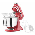KitchenAid KSM150PSWM Artisan Series Stand Mixer w/ 5-qt Bowl, Watermelon