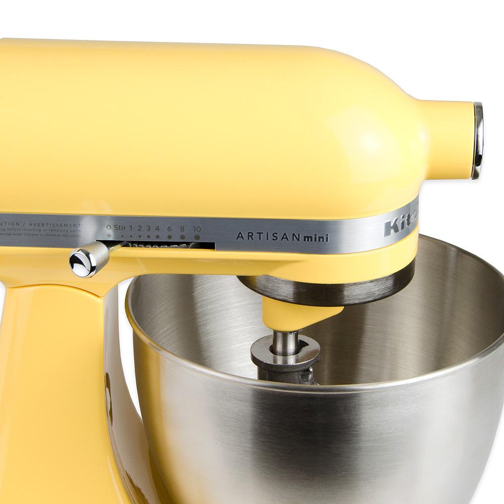 KitchenAid KSM3311XBF 10-Speed Stand Mixer w/ 3.5-qt Stainless Bowl & Accessories, Orange Sorbet