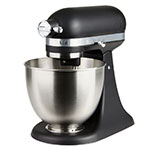 KitchenAid KSM3311XBM 10-Speed Stand Mixer w/ 3.5-qt Stainless Bowl & Accessories, Black Matte