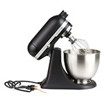 KitchenAid KSM3311XBM 10-Speed Stand Mixer w/ 3.5-qt Stainless Bowl & Accessories, Black Matte