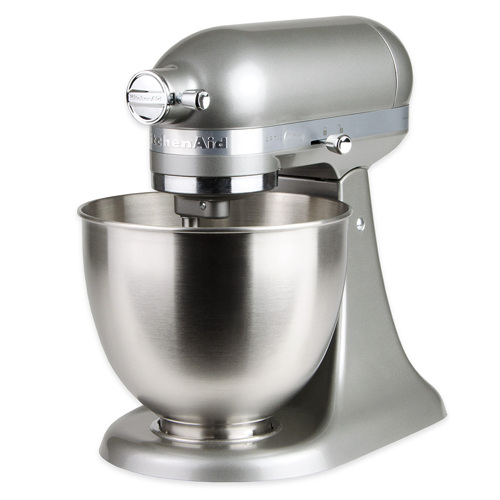 KitchenAid KSM3311XCU 10-Speed Stand Mixer w/ 3.5-qt Stainless Bowl & Accessories, Contour Silver