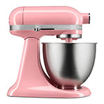 KitchenAid KSM3311XFW 10-Speed Stand Mixer w/ 3.5-qt Stainless Bowl & Accessories, Matte White