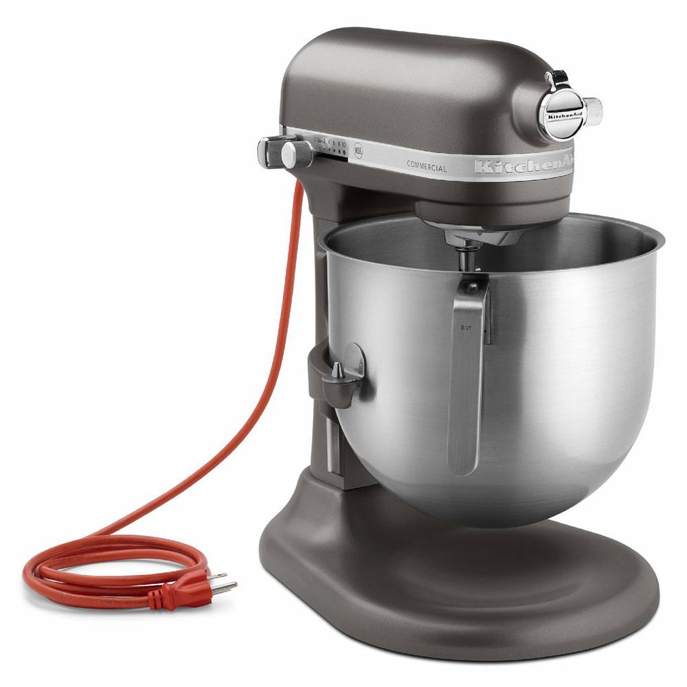Kitchenaid ksm8990dp 10 speed stand mixer w 8 qt stainless bowl accessories dark pewter - Kitchenaid qt mixer review ...
