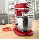 KitchenAid KSM8990ER 10-Speed Stand Mixer w/ 8-qt Stainless Bowl & Accessories, Empire Red