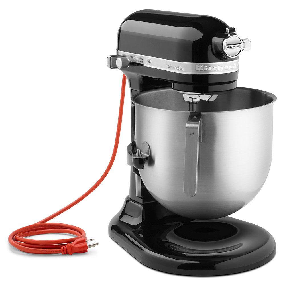 KitchenAid KSM8990OB 10-Speed Stand Mixer w/ 8-qt Stainless Bowl & Accessories, Onyx Black