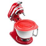KitchenAid KSMBLT 5-qt Bowl Liners for KitchenAid 4.5-5-qt Stand Mixers, Red Lid