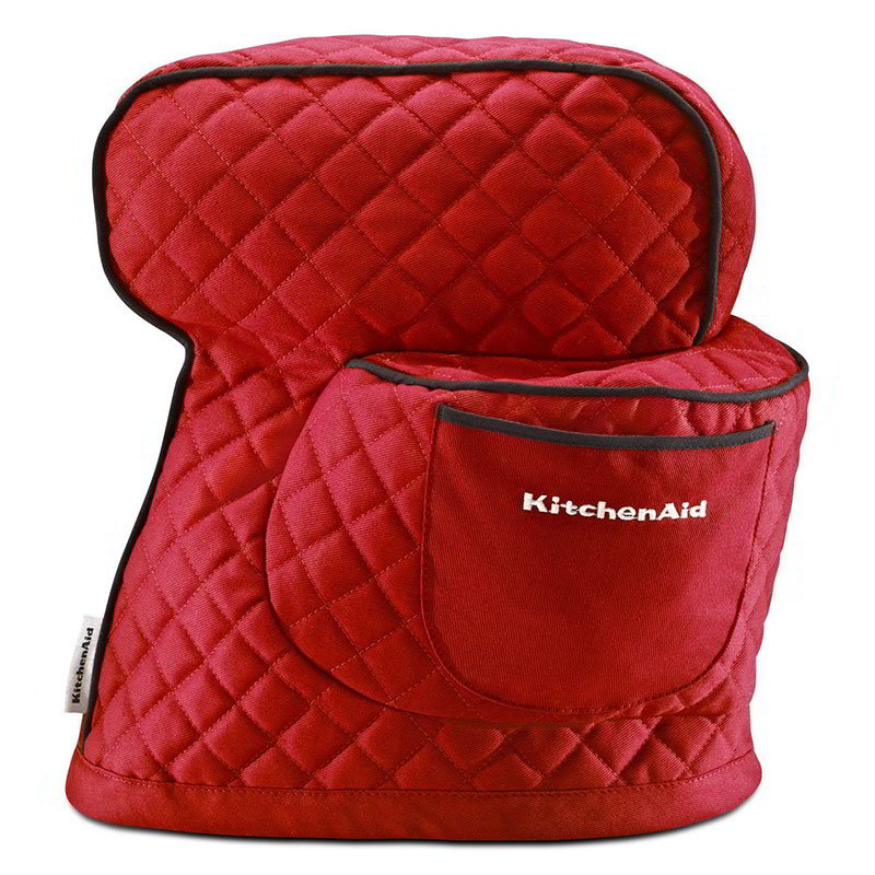Kitchenaid KSMCT1ER Fitted Cover for KitchenAid Tilt-Head Stand Mixers, Red
