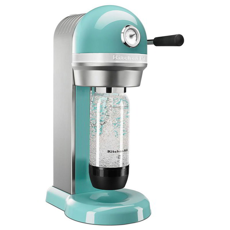 KitchenAid KSS1121AQ Sparkling Beverage Maker powered by SodaStream®, Aqua Sky