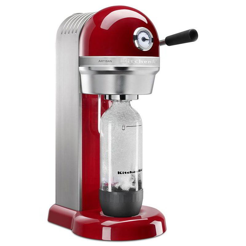 KitchenAid KSS1121ER Sparkling Beverage Maker powered by SodaStream®, Empire Red