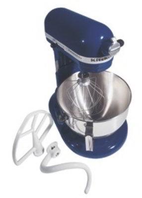KitchenAid KV25GOXBU Professional 5 Plus Series 5 Quart Stand Mixer, Cobalt  Blue