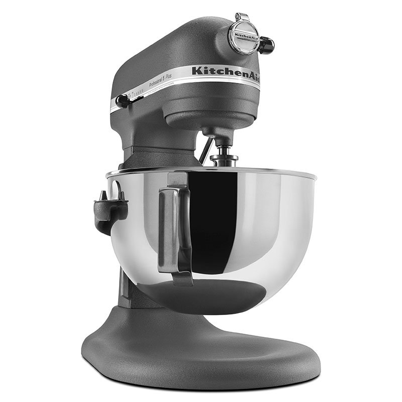 Grey Kitchenaid Mixer: KitchenAid KV25GOXGR Professional 5 Plus Series 5 Quart