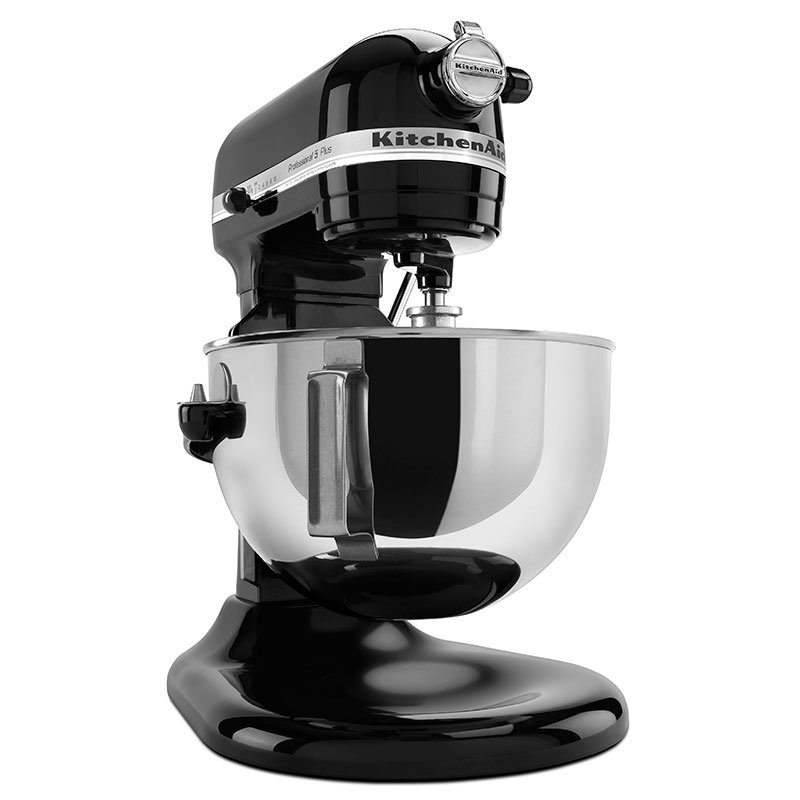 KitchenAid KV25GOXOB Professional 5 Plus Series 5 Quart Stand Mixer, Black Onyx