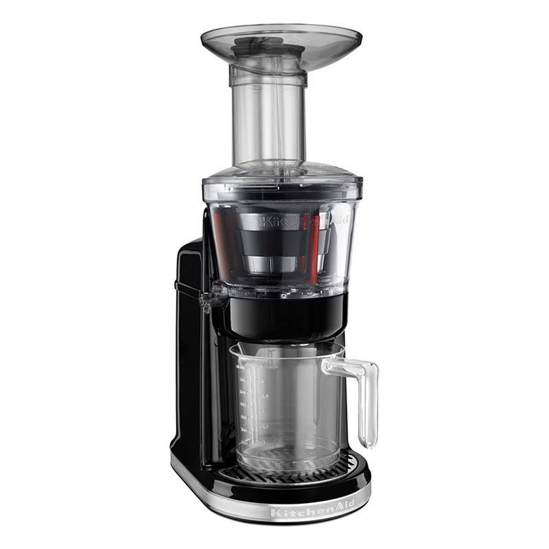 KitchenAid KVJ0111OB Maximum Extraction Juicer w/ 2-Stage Blade, Onyx Black