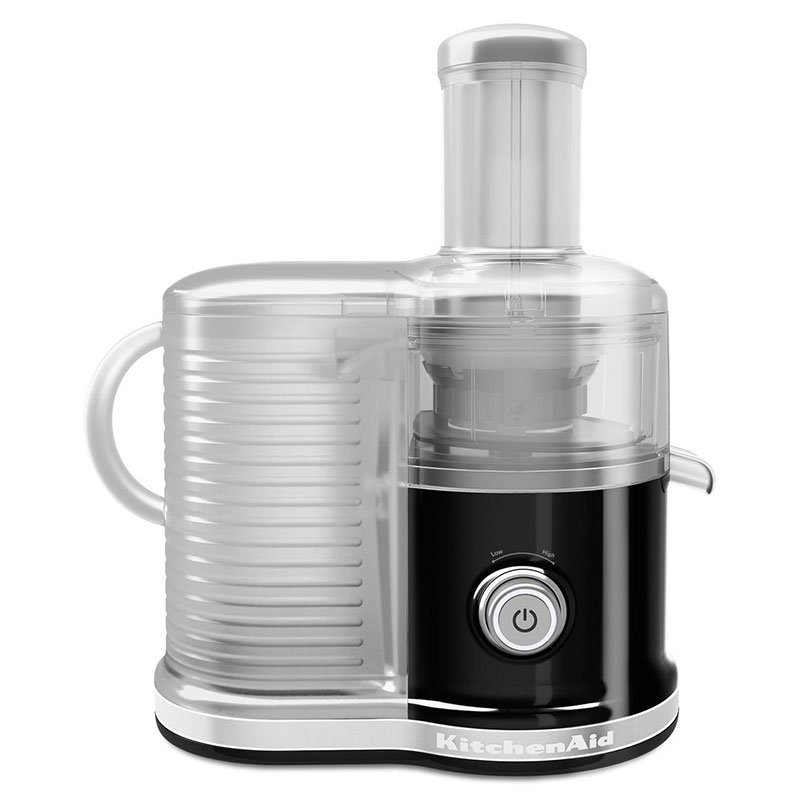 KitchenAid KVJ0333OB Easy Clean Juicer w/ BPA-Free Juice Pitcher, Onyx Black