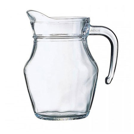 Cardinal E7258 16-oz Luminarc Serving Pitcher - Glass, Clear