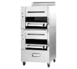 Garland C2100M LP Heavy Duty Banquet Broiler w/ 2-Infrared Decks, LP