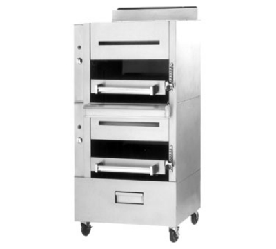 "Garland C2100M NG Heavy Duty Banquet Broiler w/ 2"" Frared Decks, NG"