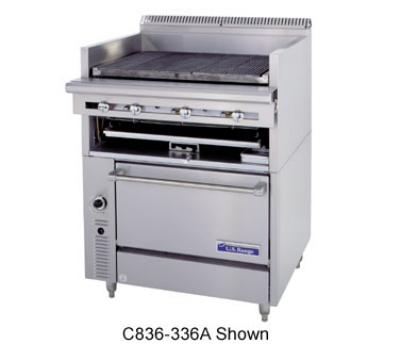 Garland C836-436A 36 in Cuisine Heavy Duty Range Restaurant Supply