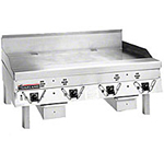 "Garland CG-60F 2201 60"" Gas Griddle - Thermostatic, 1"" Steel Plate, 220v/1ph"
