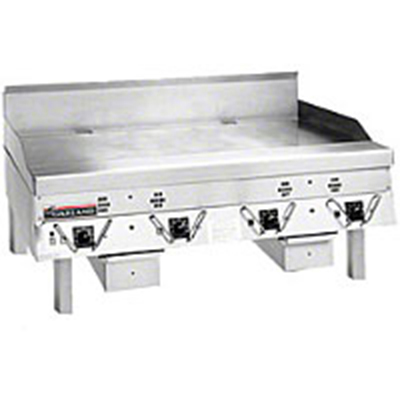 Garland CG-60F 1201 Master Griddle w/ Front Drain & Polished Steel Griddle Plate, 60x24-in, 120/1 V