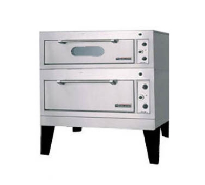 Garland / US Range E2015 2083 Deck-Type Bake/Roast Oven Double Deck Combo 42 x 32 1 Hearth/1 Deck 208/3 V Restaurant Supply