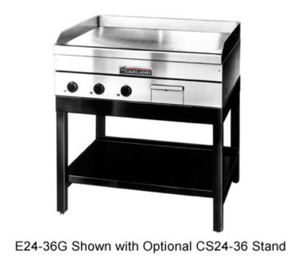 Garland / US Range E2448G 48-in Griddle w/ 5/8-in Steel Plate & Thermostatic Controls Restaurant Supply