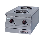 "Garland ED-15H 15"" Electric Hotplate w/ (2) Burners & Infinite Controls, 240v/1ph"