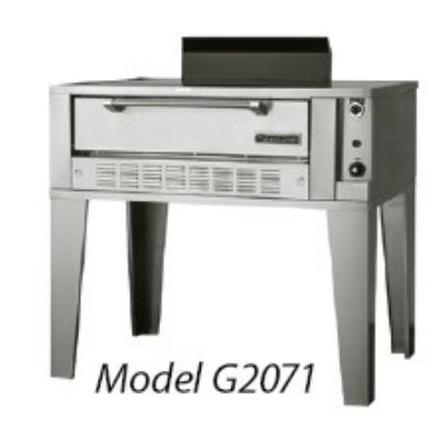 Garland / US Range G2071-771 LP Deck-Type General Purpose/Bake Oven (1) Twin General Purpose & 1 Bake LP Restaurant Supply
