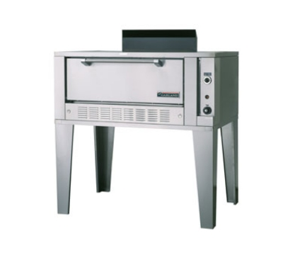 Garland / US Range G2123 NG Deck-Type Roast Oven Triple Deck 42 x 32 x 12 in Steel Deck NG Restaurant Supply