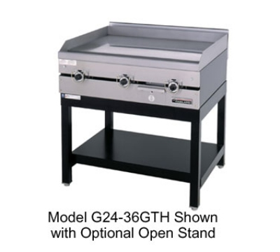 Garland G24-24GTHX NG 24-in  Countertop Griddle w/ 3/4-in Steel Plate, Thermostatic, NG