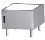 "Garland G48-BRL-CAB 48""W Cabinet Base, Stainless Steel"