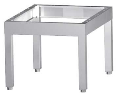 "Garland G48-BRL-STD 48""W Equipment Stand, Stainless Steel"