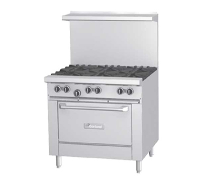 "Garland G36-6R 36"" 6-Burner Gas Range, LP"