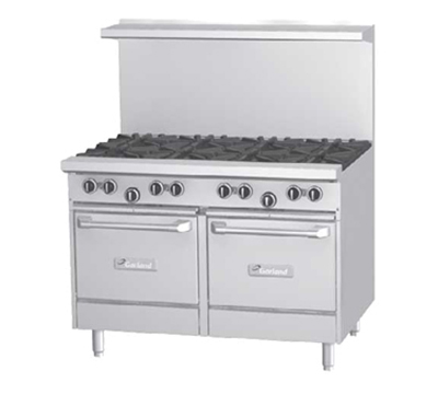 "Garland G48-6G12LL 48"" 6-Burner Gas Range with Griddle, LP"