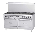 "Garland G60-6G24RR 60"" 6-Burner Gas Range with Griddle, NG"