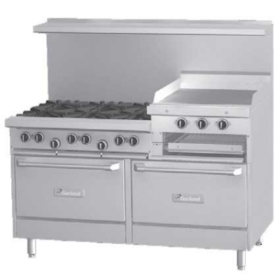 Garland G60-6R24RR G Starfire Pro Series Range 60 in 6 Burners Restaurant Supply