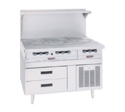 "Garland GN17FR51 51"" Chef Base w/ (4) Drawers - 115v"
