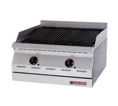 "Garland GD-30RBFF NG 30"" Countertop Charbroiler w/ High Lo Valve Control & Piezo Spark Ignition, NG"