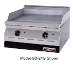 "Garland GD-36G NG 36"" Gas Griddle - Thermostatic, 1/2"" Steel Plate, NG"