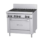 "Garland GFE36-6R 36"" 6-Burner Gas Range, LP"