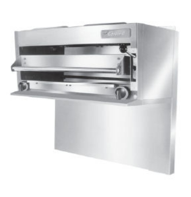 "Garland GIR60LP 36"" Gas Salamander Broiler, LP"